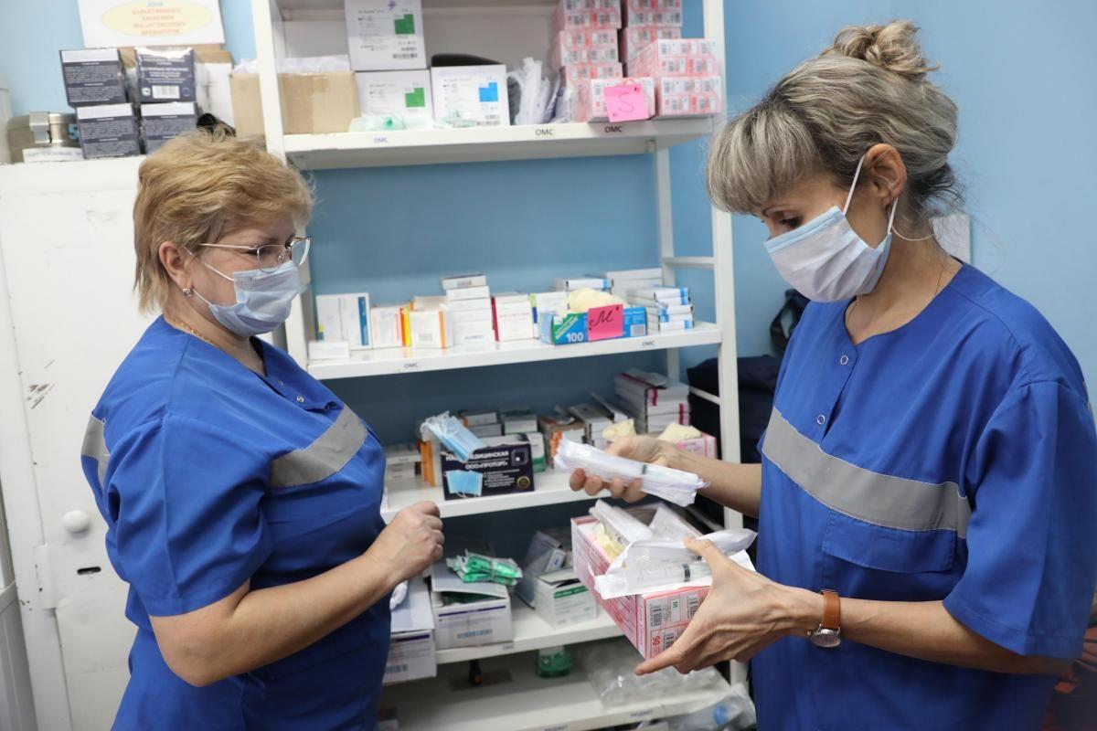 Нижегородской области безвозмездно передали 55 тысяч упаковок препаратов для лечения ОРВИ и COVID-19
