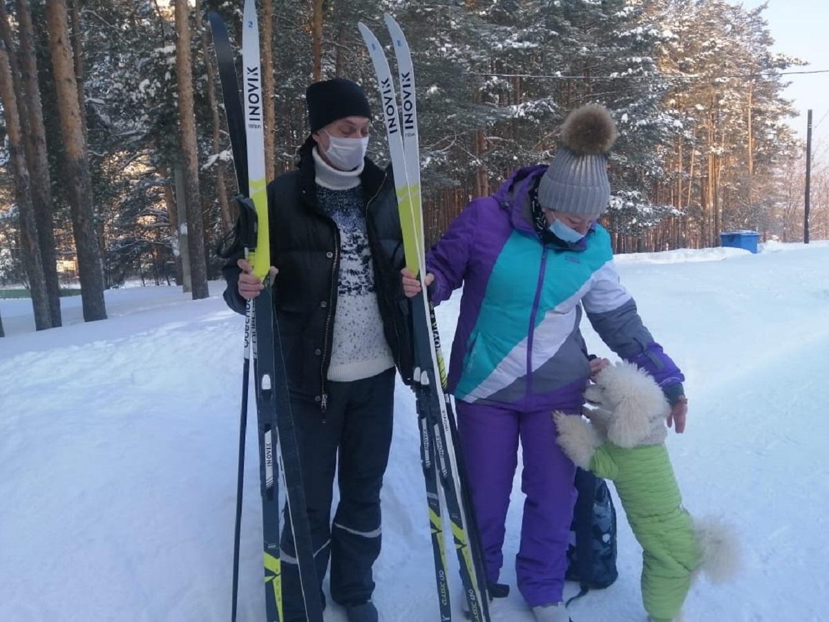 лыжная база сормович лыжи 14 февраля 2021 года