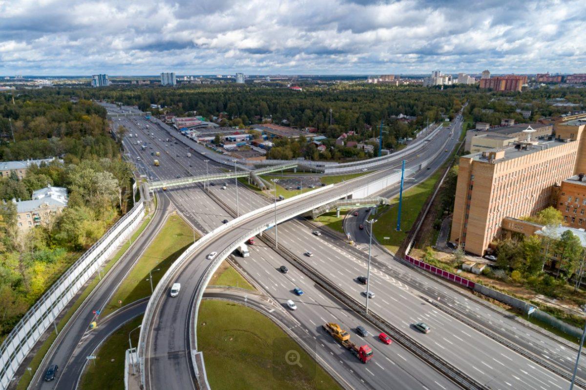 Участок трассы «Холмогоры» в Московской области