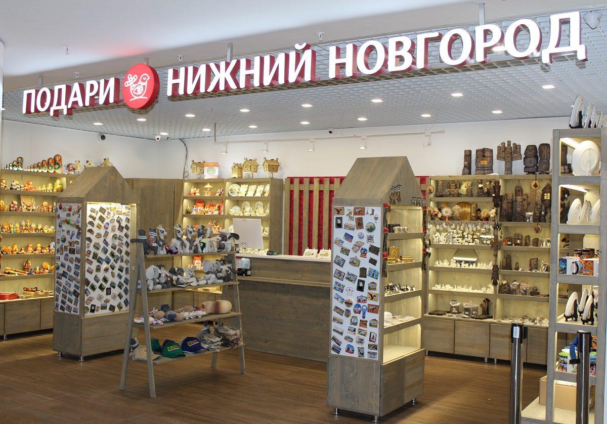Магазин нижегородских сувениров открылся в аэропорту Стригино