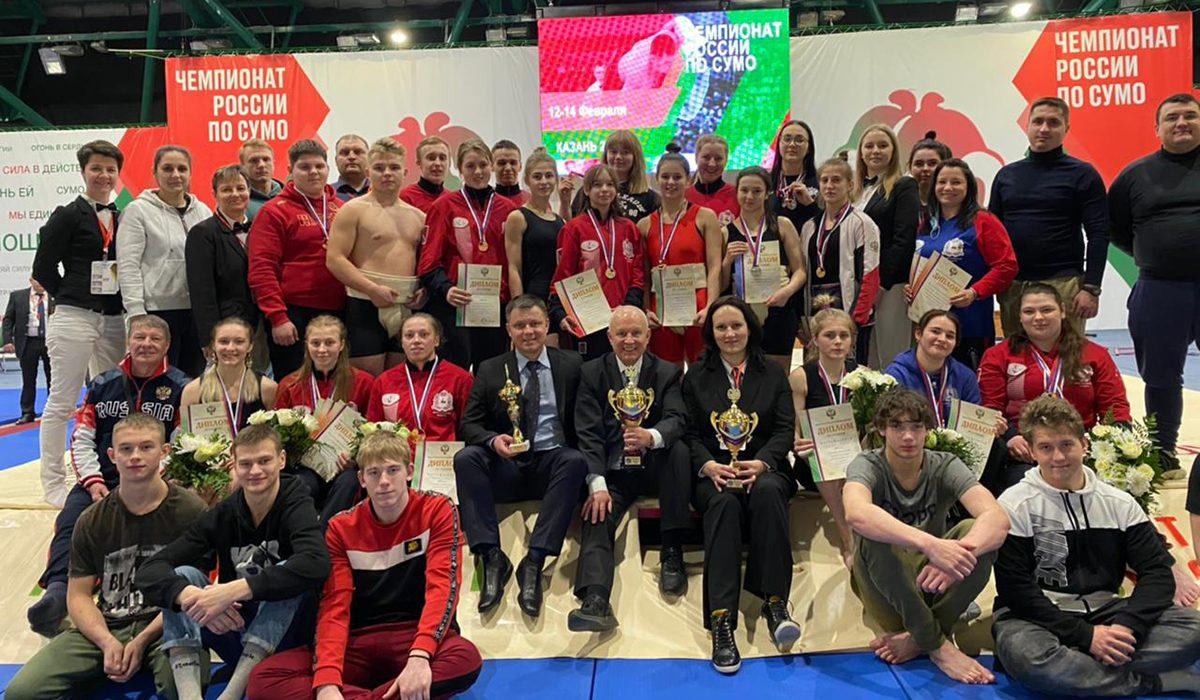 Нижегородцы завоевали 29 медалей начемпионате ипервенстве России посумо