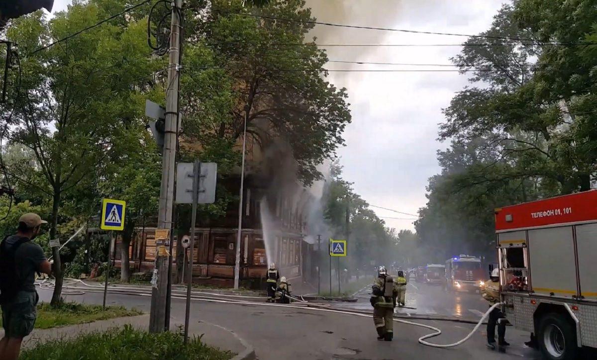 Нижегородец пошёл под суд за поджог домов, признанных объектами культурного наследия