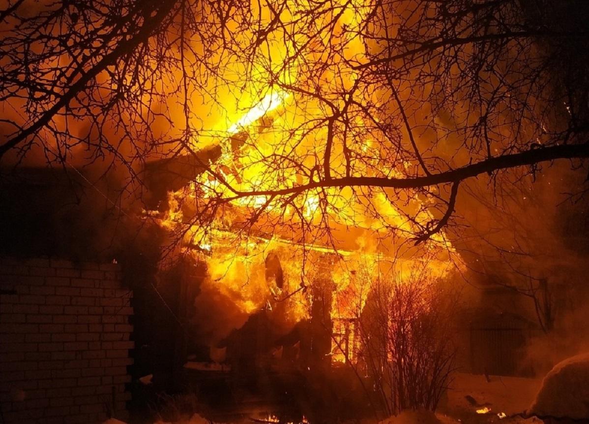 Два человека погибли на пожарах в Нижегородской области за последние сутки