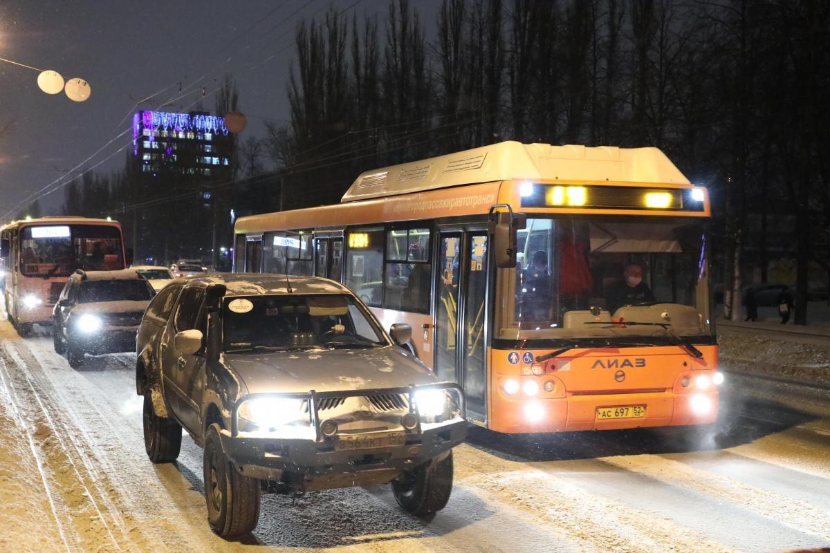 10-балльные пробки парализовали движение в Нижнем Новгороде