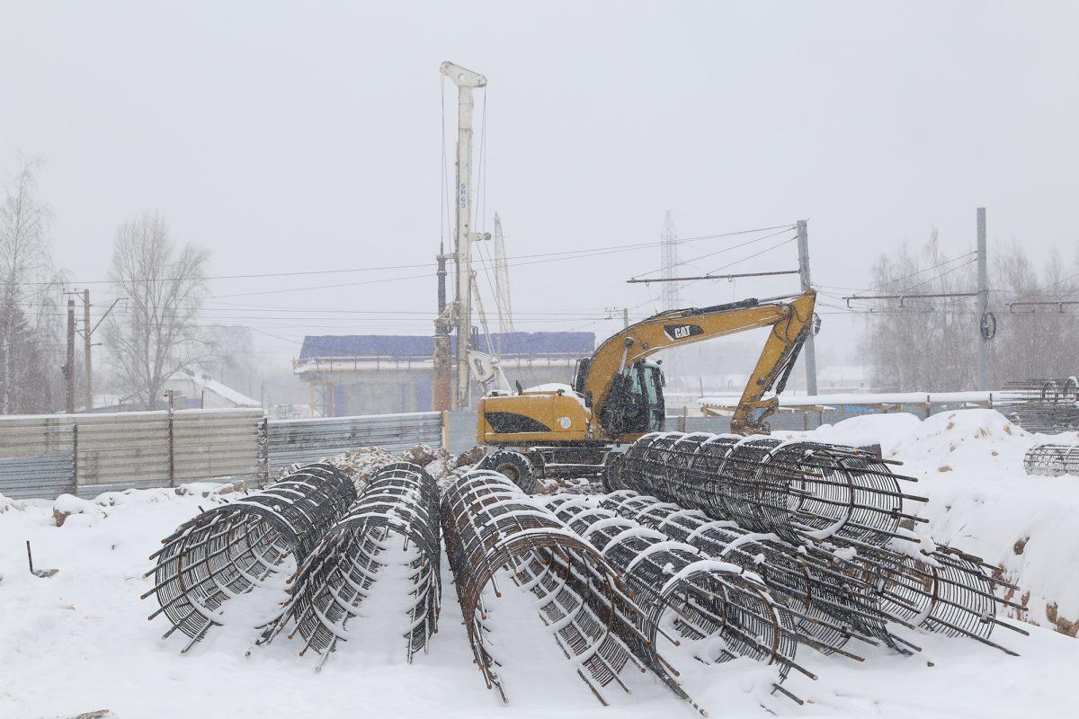 Схемы организации движения транспорта в районе строительства развязки на Циолковского могут измениться