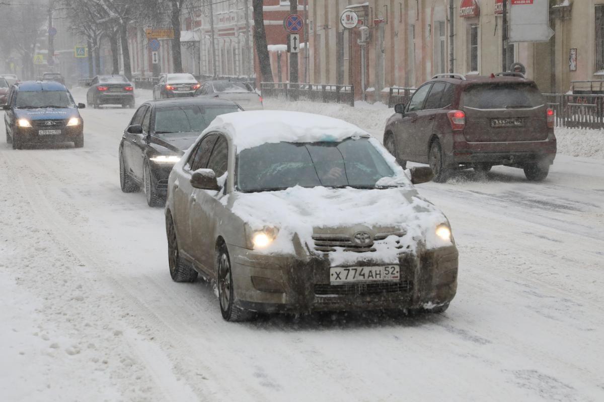 В ГИБДД предупредили нижегородских автомобилистов об ухудшении дорожной ситуации