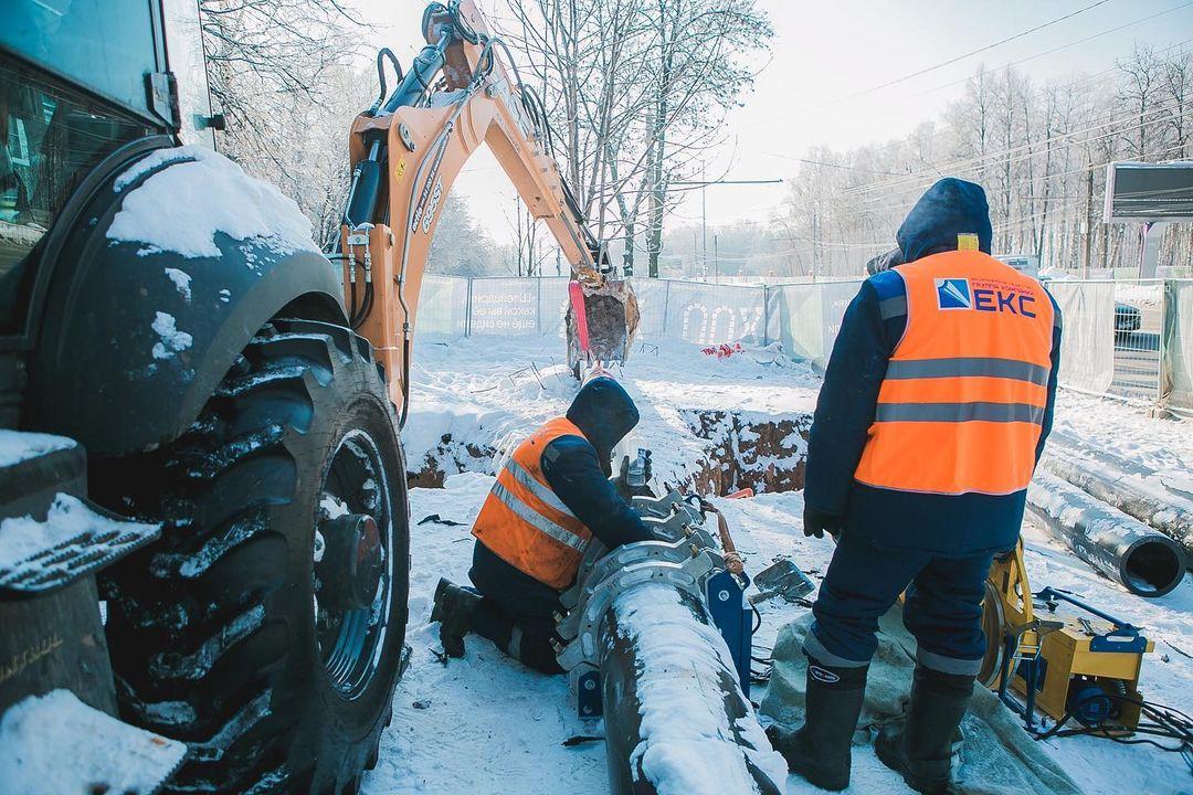 Проспект Гагарина будет частично перекрыт из-за прокладки труб в парке «Швейцария»