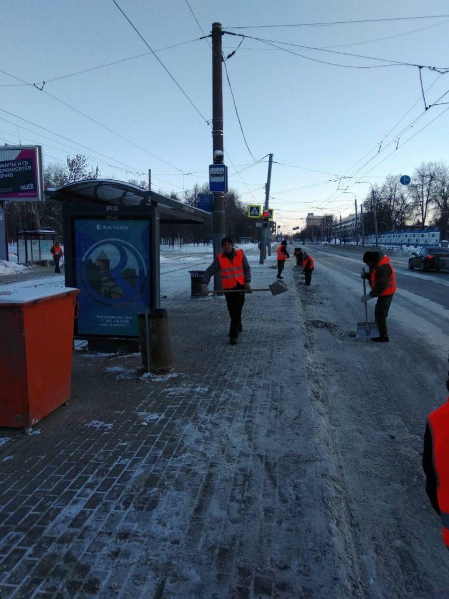 368 снегоуборочных машин работают на улицах Нижнего Новгорода в эти выходные