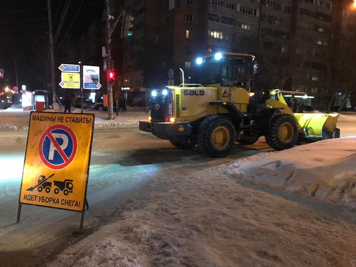 Подрядчики, нарушающие договоры по уборке снега, попадут в реестр недобросовестных исполнителей