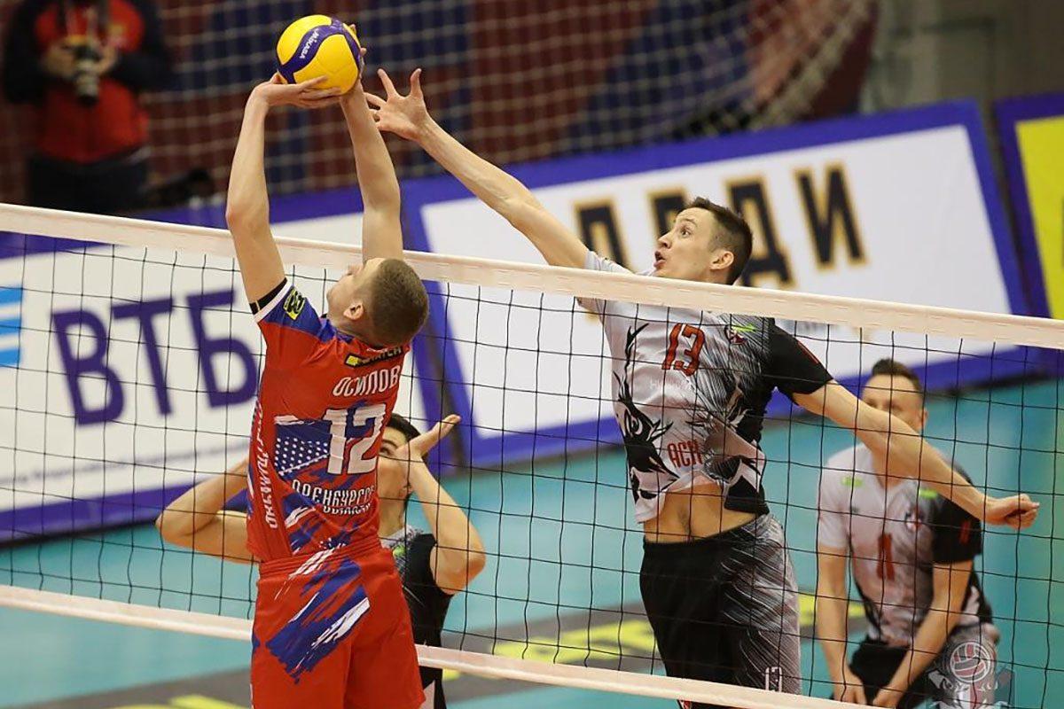 Нижегородская волейбольная команда АСК одержала седьмую победу подряд