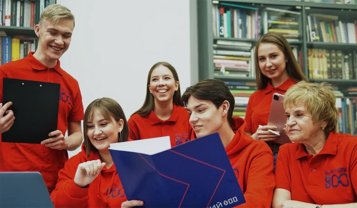 Более 500 кандидатов в«Волонтеры 800» прошло подготовку вонлайн-формате