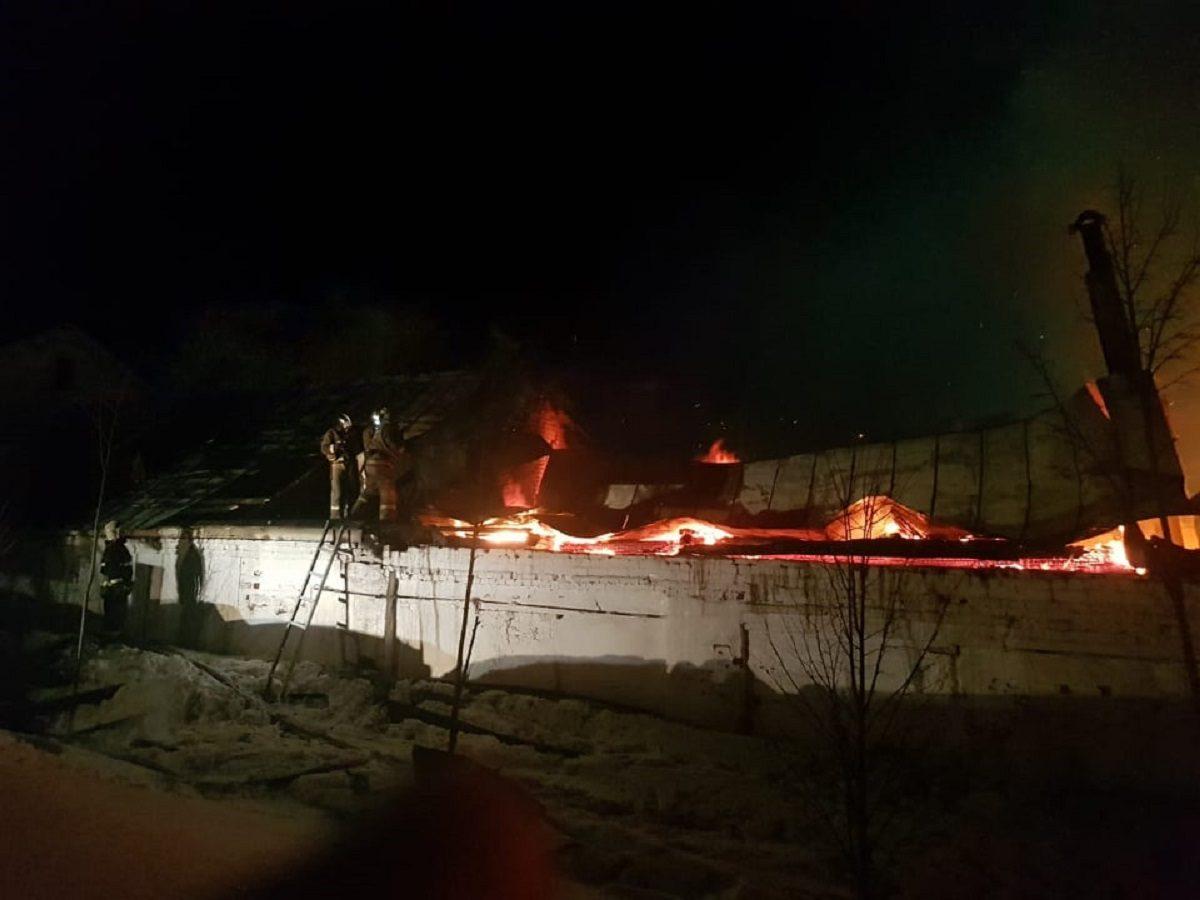 Названа предварительная причина пожара в Оранском мужском монастыре