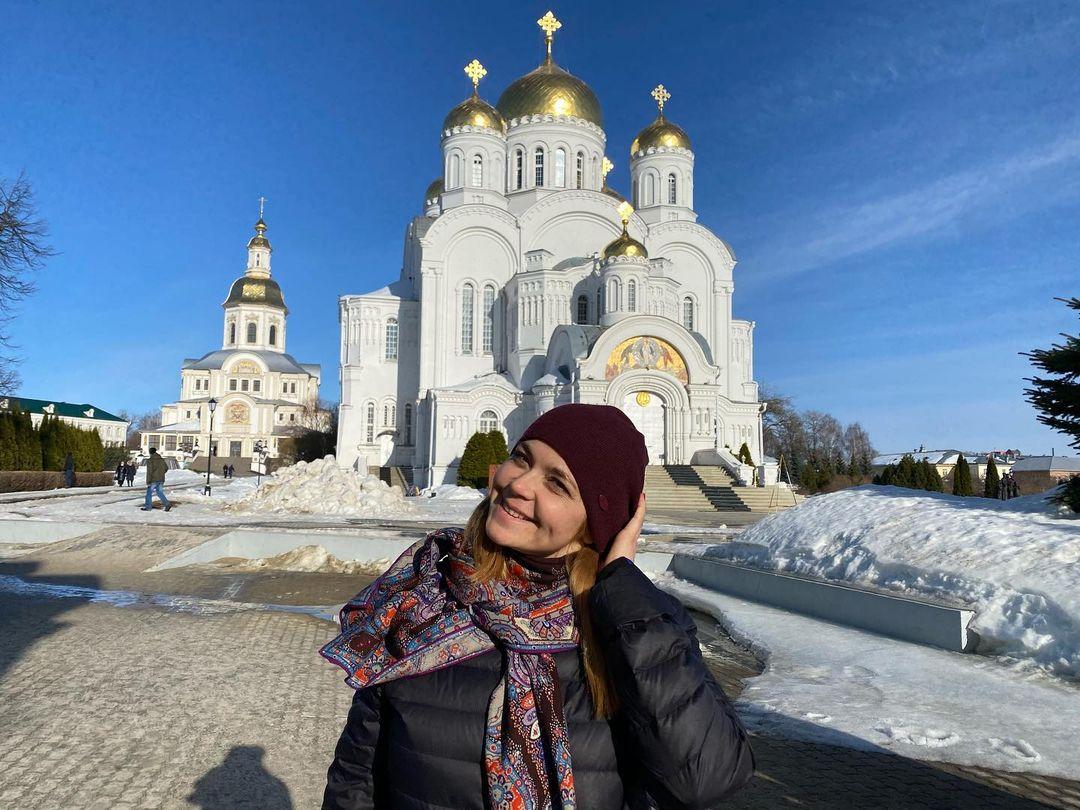 Ирина Пегова показала снимки из поездки в Дивеево