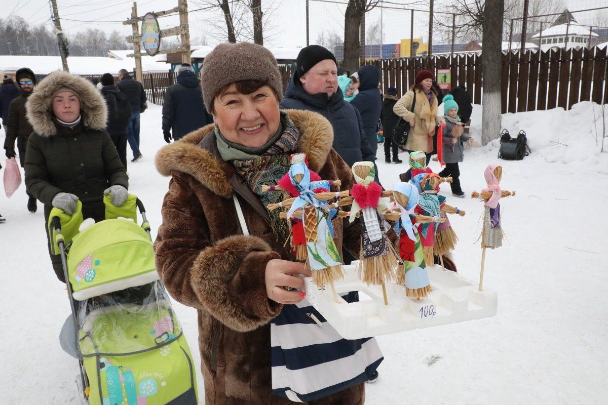 Кулачные бои, канат и горки: смотрим, как нижегородцы отметили Масленицу