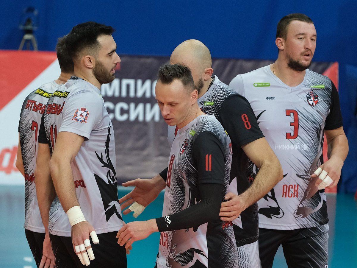 Волейбольный клуб АСК завершил выступление в плей-офф