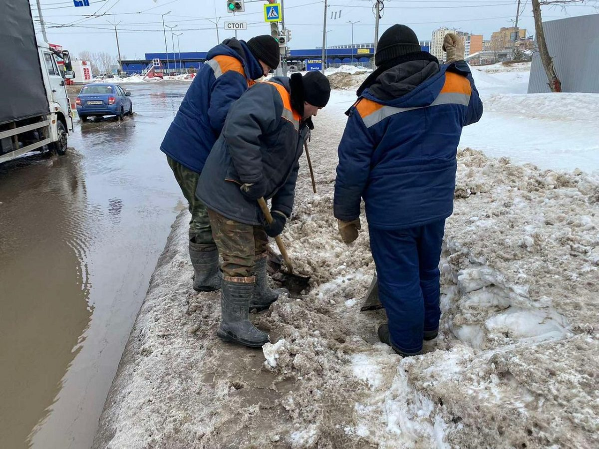 Режим повышенной готовности в связи с наступлением паводка будет объявлен в Нижнем Новгороде 17 марта
