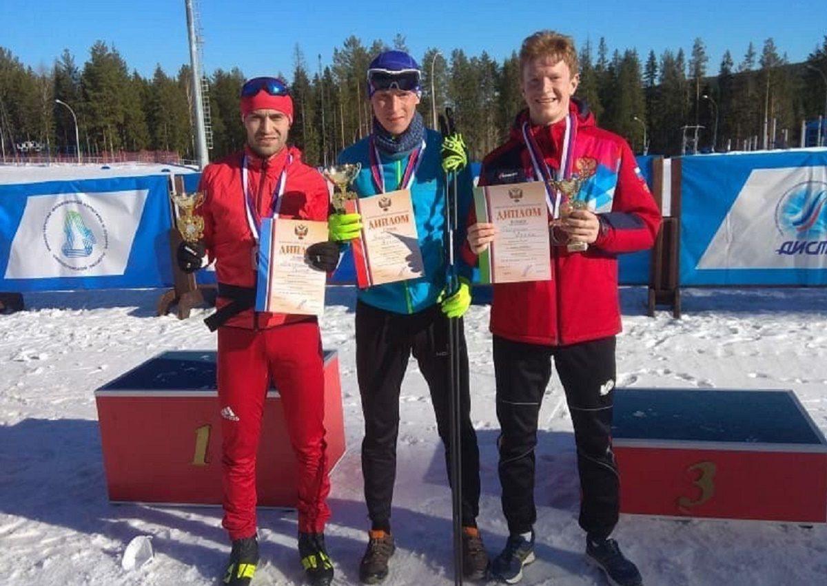 Нижегородец Артём Галунин стал бронзовым призёром чемпионата России по лыжному двоеборью