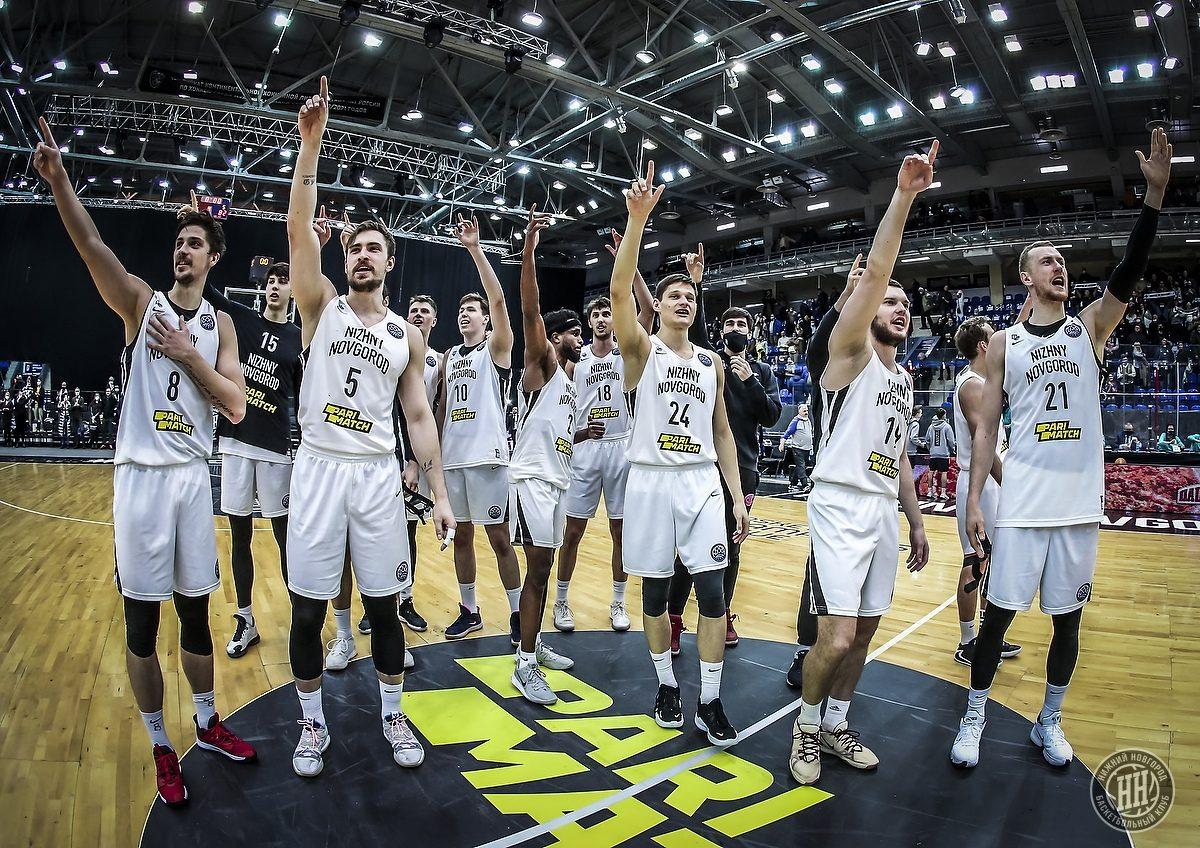 БК «Нижний Новгород» разгромил греческий АЕК и вышел в «Финал восьми» Лиги чемпионов ФИБА