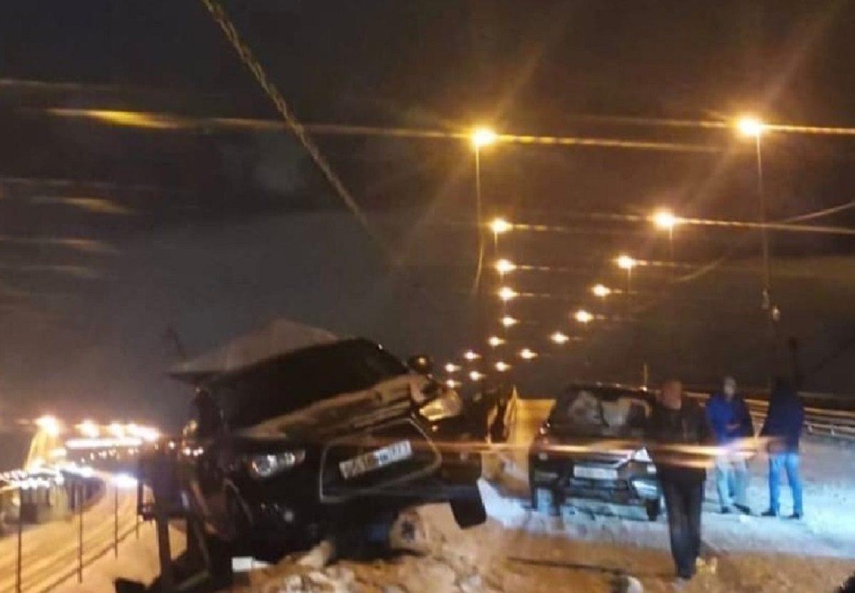ДТП произошло на Борском мосту в Нижегородской области