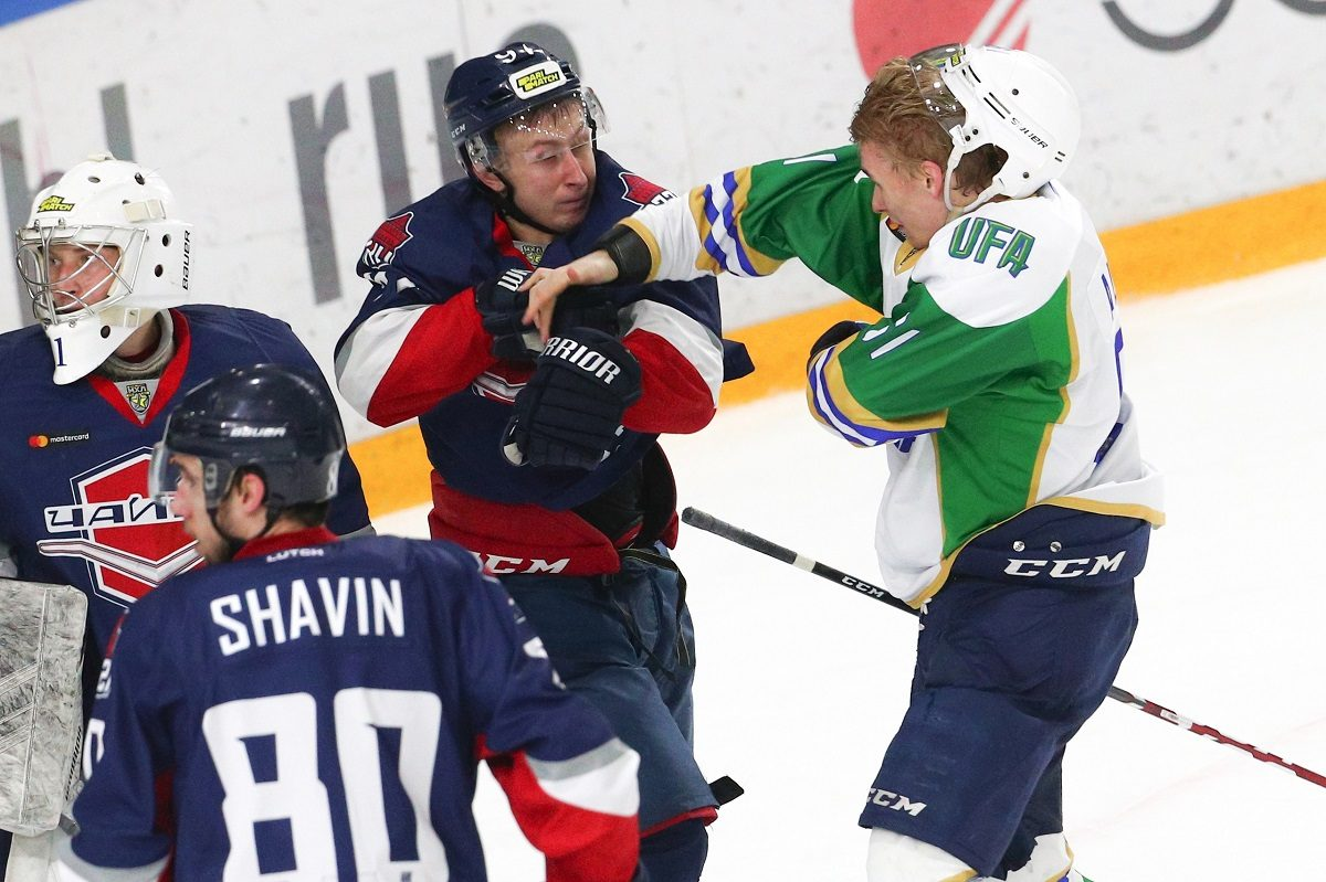 Хоккеисты нижегородской «Чайки» взяли убедительный реванш у соперника из Уфы