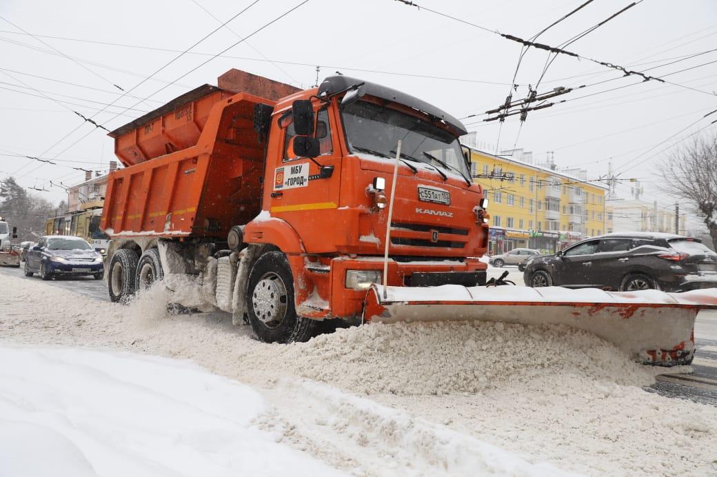 В мэрии рассказали, как проходит уборка снега в Нижнем Новгороде