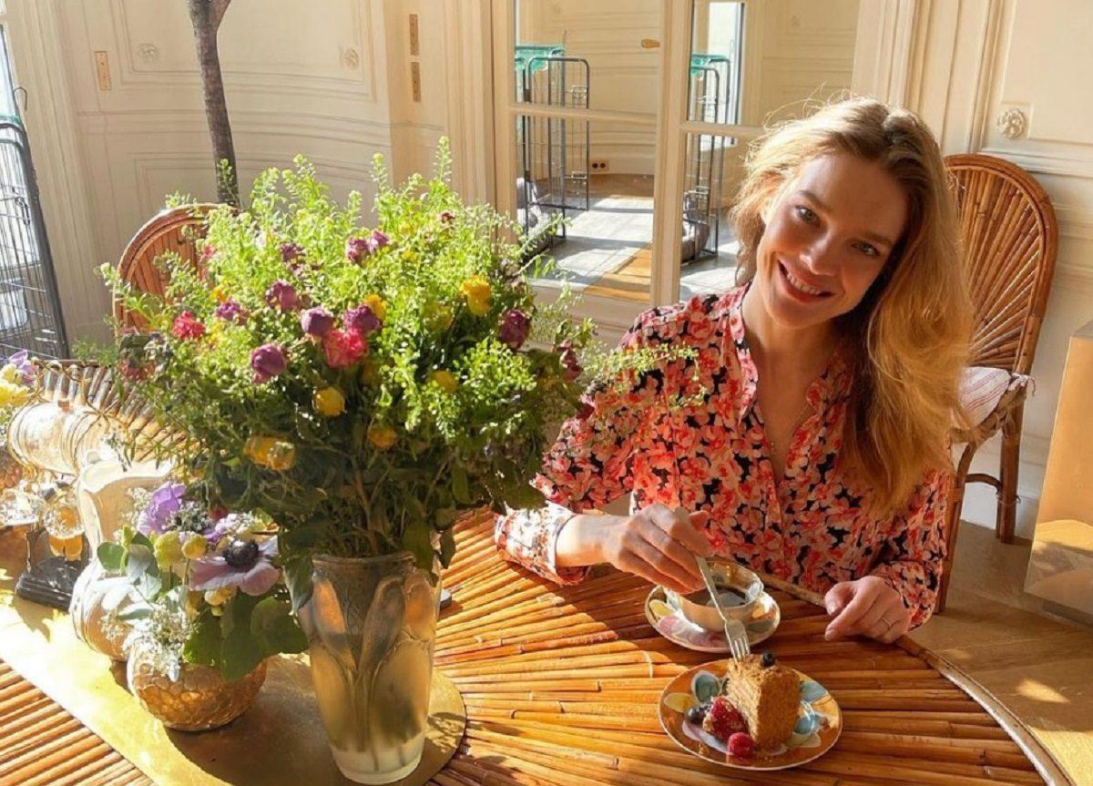 Наталья Водянова показала, как готовится к Великому посту