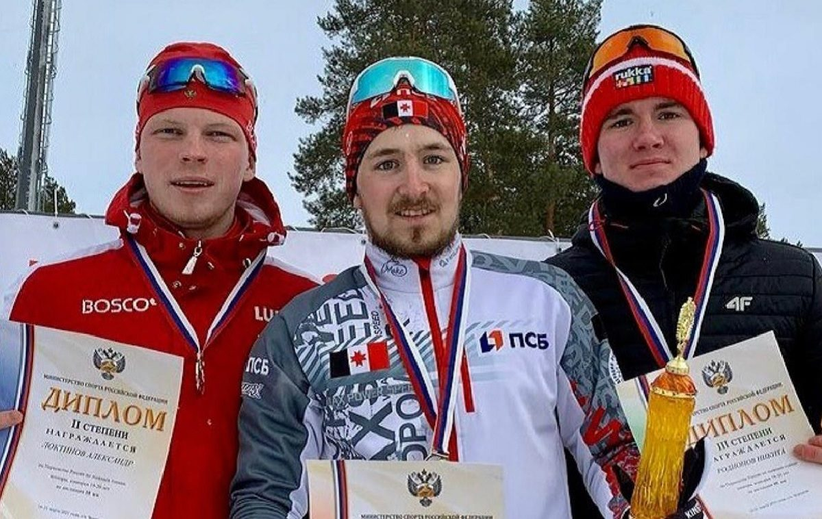 Нижегородский лыжник Никита Родионов завоевал две медали на первенстве России