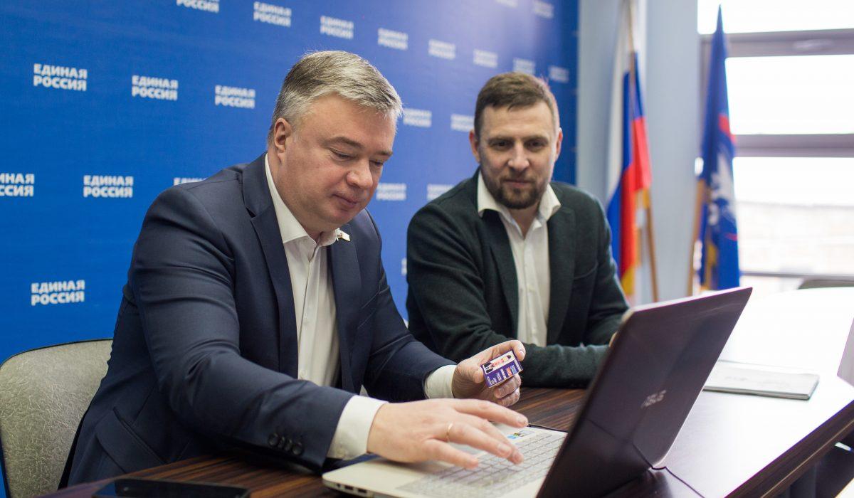 Артем Кавинов первым в Нижегородской области подал документы для участия в предварительном голосовании «Единой России»