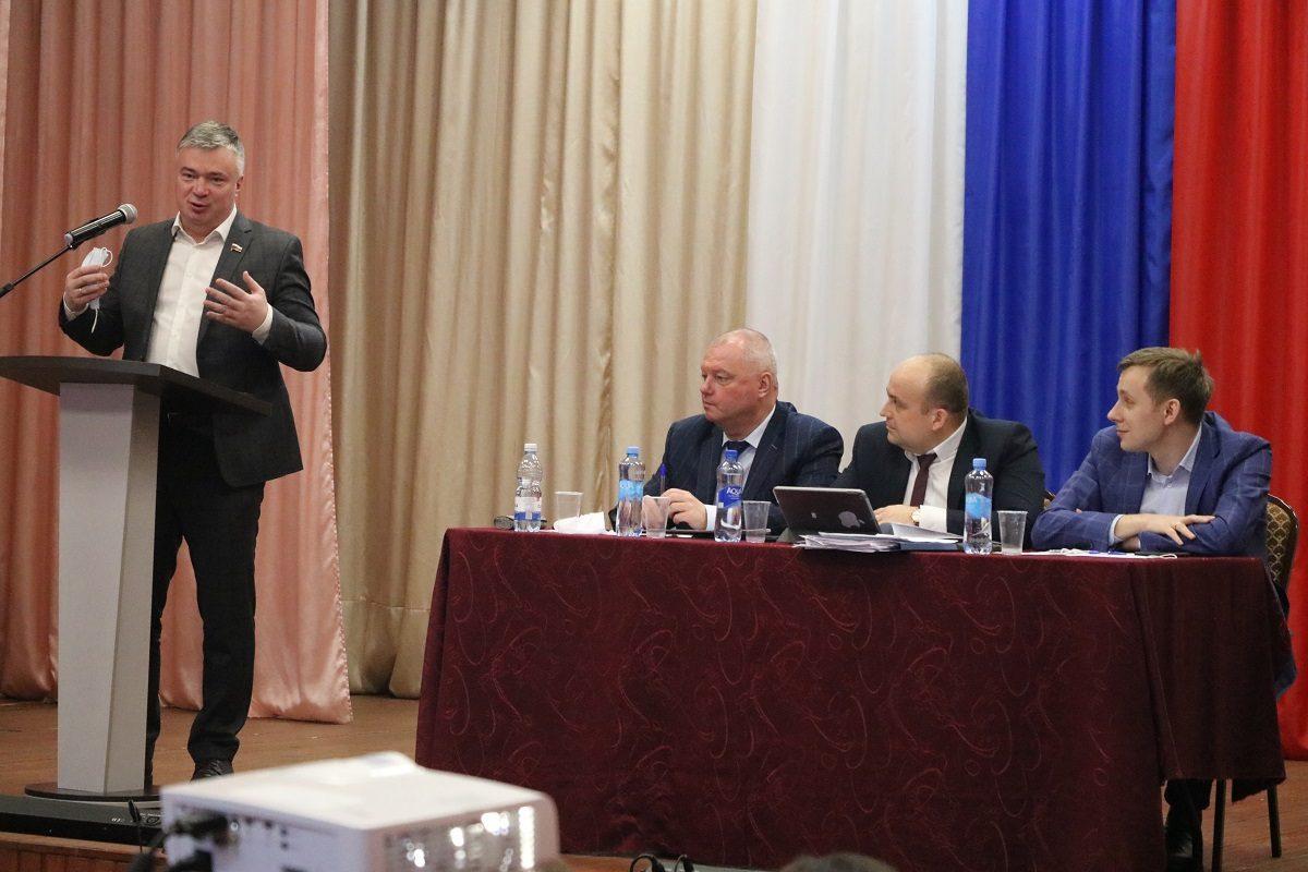 Артем Кавинов: «Ковернинский округ старается задействовать все возможные ресурсы для развития территории»