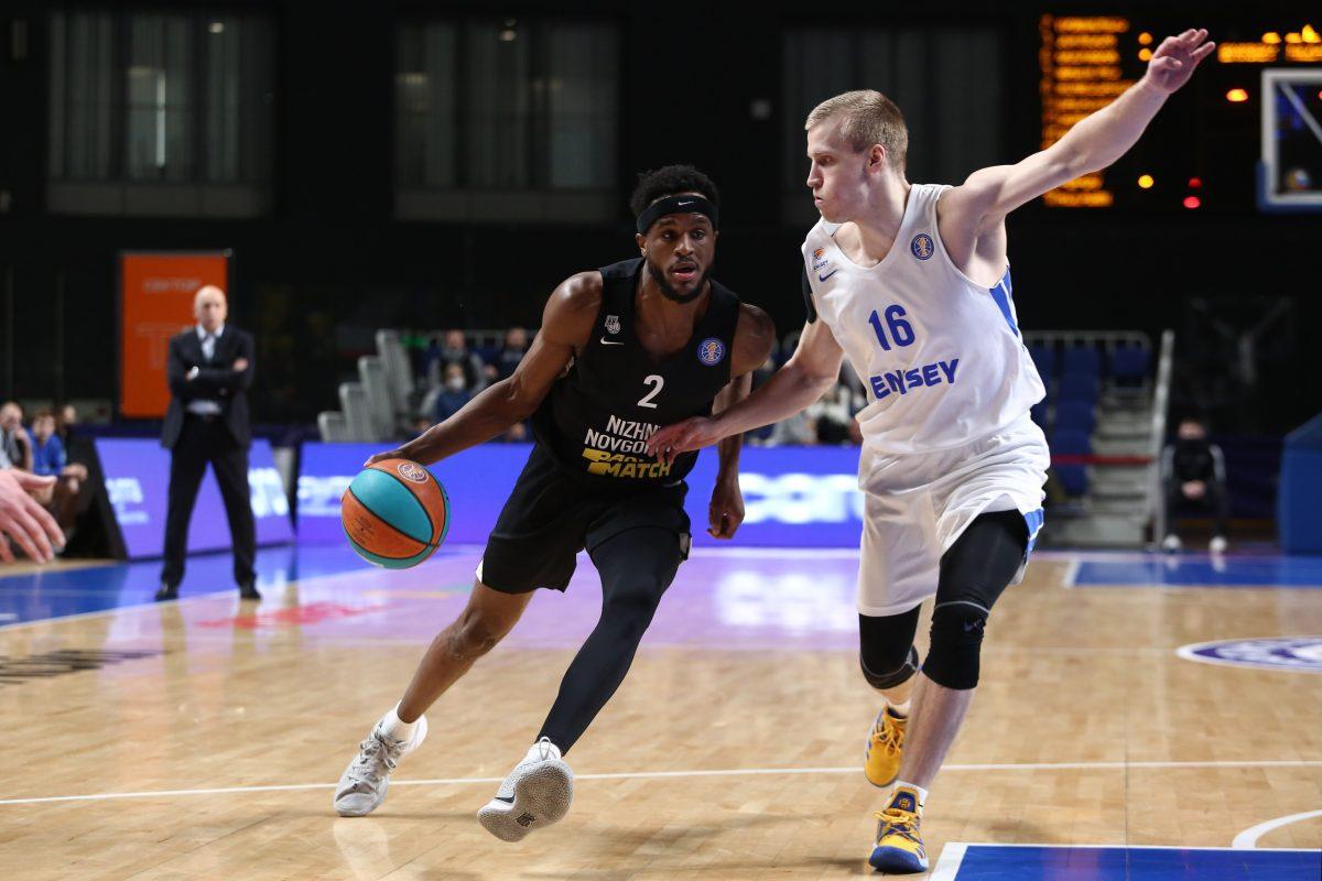 БК «Нижний Новгород» продолжил победную серию в Красноярске