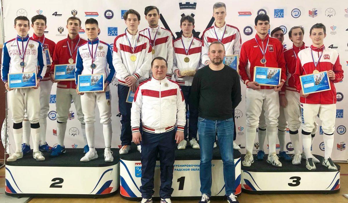Нижегородские фехтовальщики завоевали «золото» в командном первенстве на чемпионате России среди юниоров