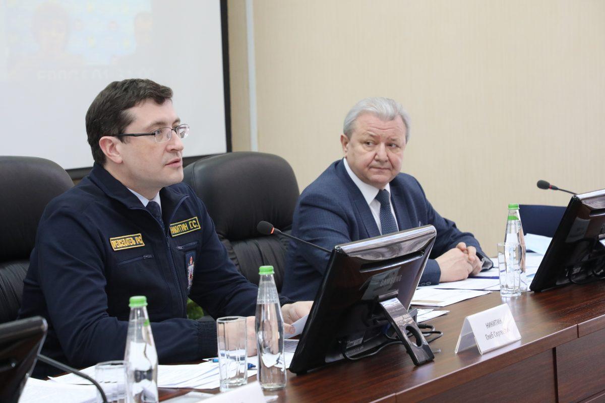 Глеб Никитин поручил главам муниципалитетов оперативно реагировать навсе сообщения жителей опаводковой ситуации