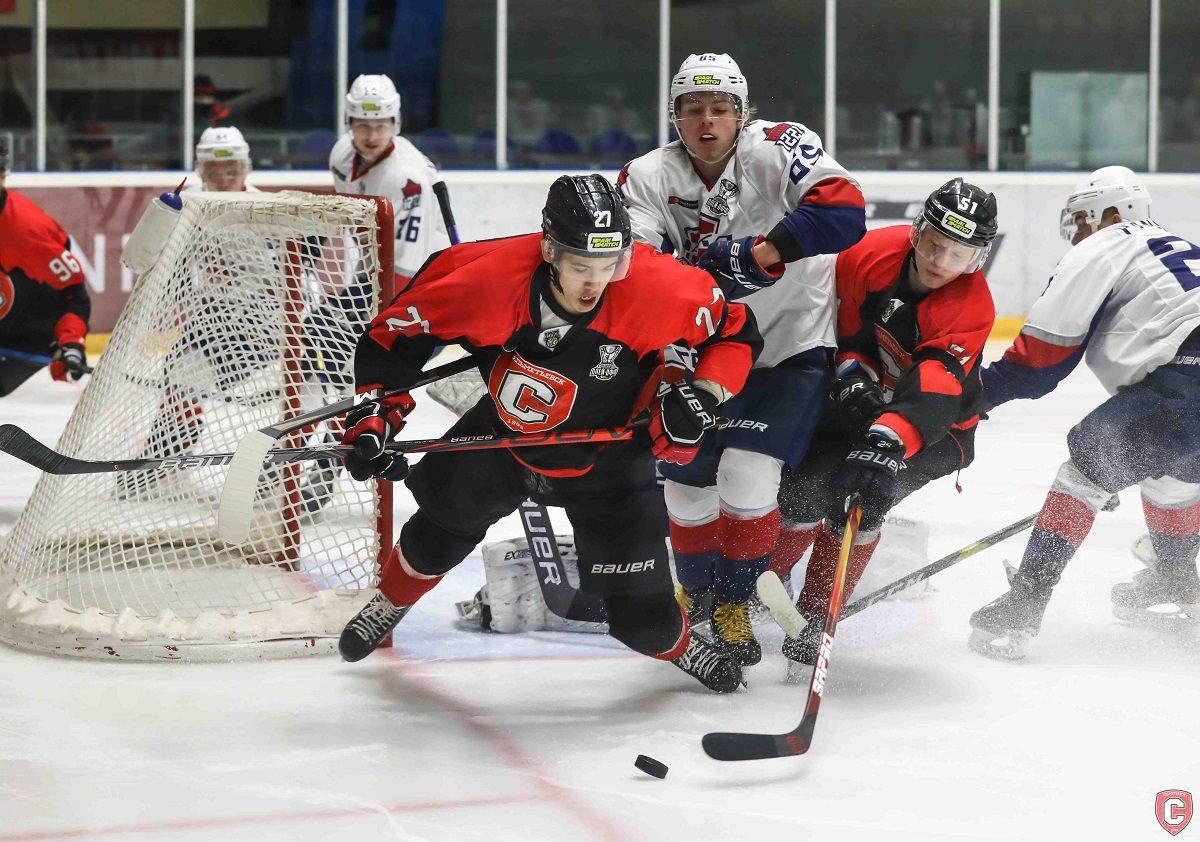 Хоккеисты нижегородской «Чайки» вышли вперёд в серии плей-офф