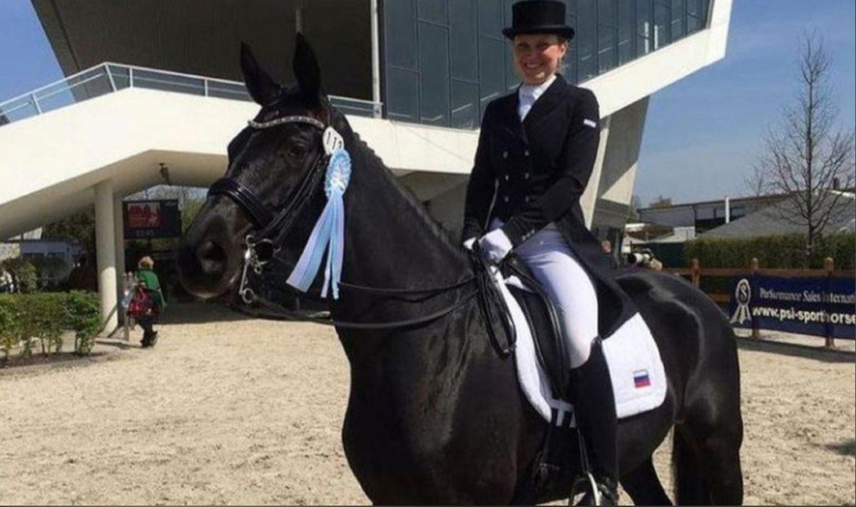 Нижегородская наездница стала третьей на международном турнире в Катаре