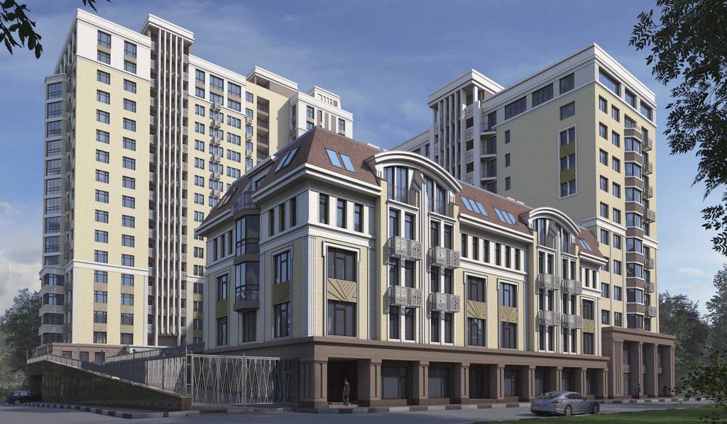 Многоквартирный жилой комплекс в стиле арт-деко построят в центре Нижнего Новгорода