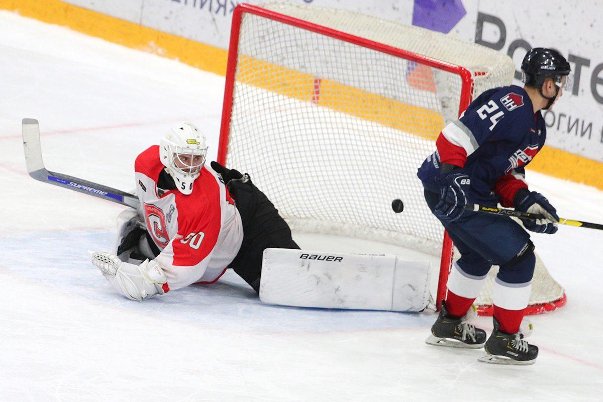 Хоккеисты нижегородской «Чайки» сравняли счёт в серии плей-офф