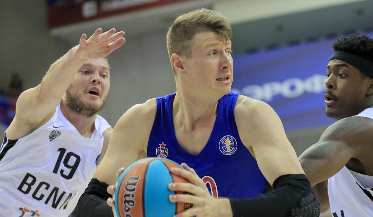 Капитан сборной России Андрей Воронцевич включён в заявку БК «НН» в Лиге чемпионов ФИБА