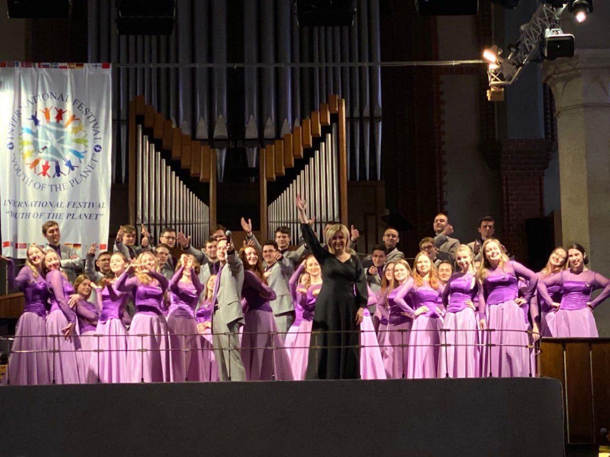 Хор университета Лобачевского победил на международном фестивале «Балтийский мир»