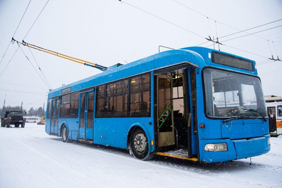 Троллейбус загорелся на ходу в Дзержинске