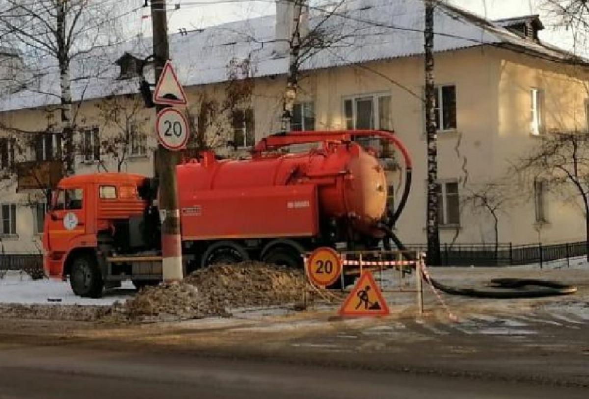 Разлив канализационных стоков произошел в Городецком районе