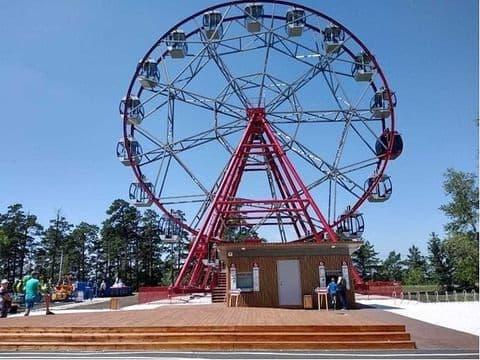 Колесо обозрения установят в Дзержинске по инициативе местных жителей