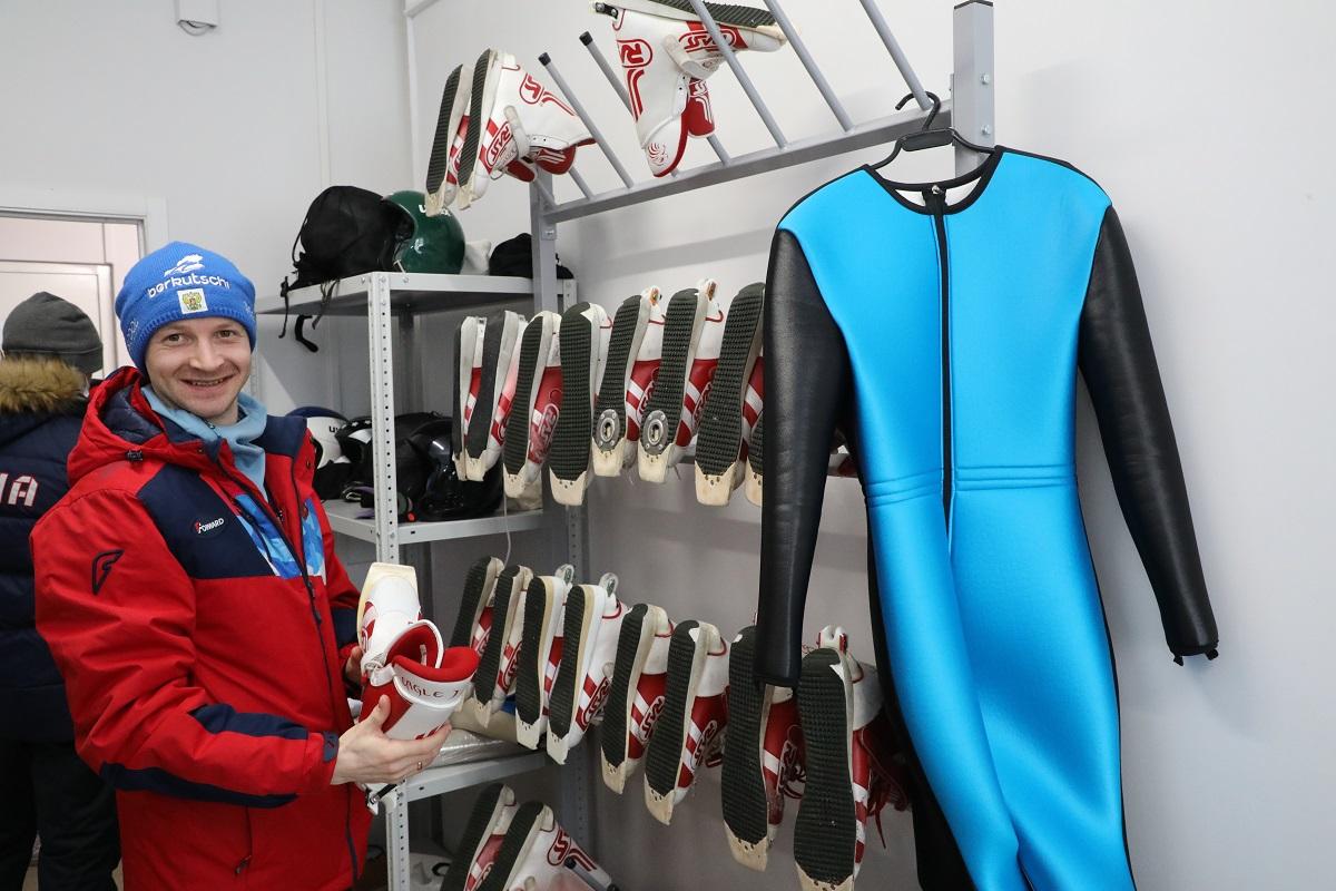 лыжник снаряжение