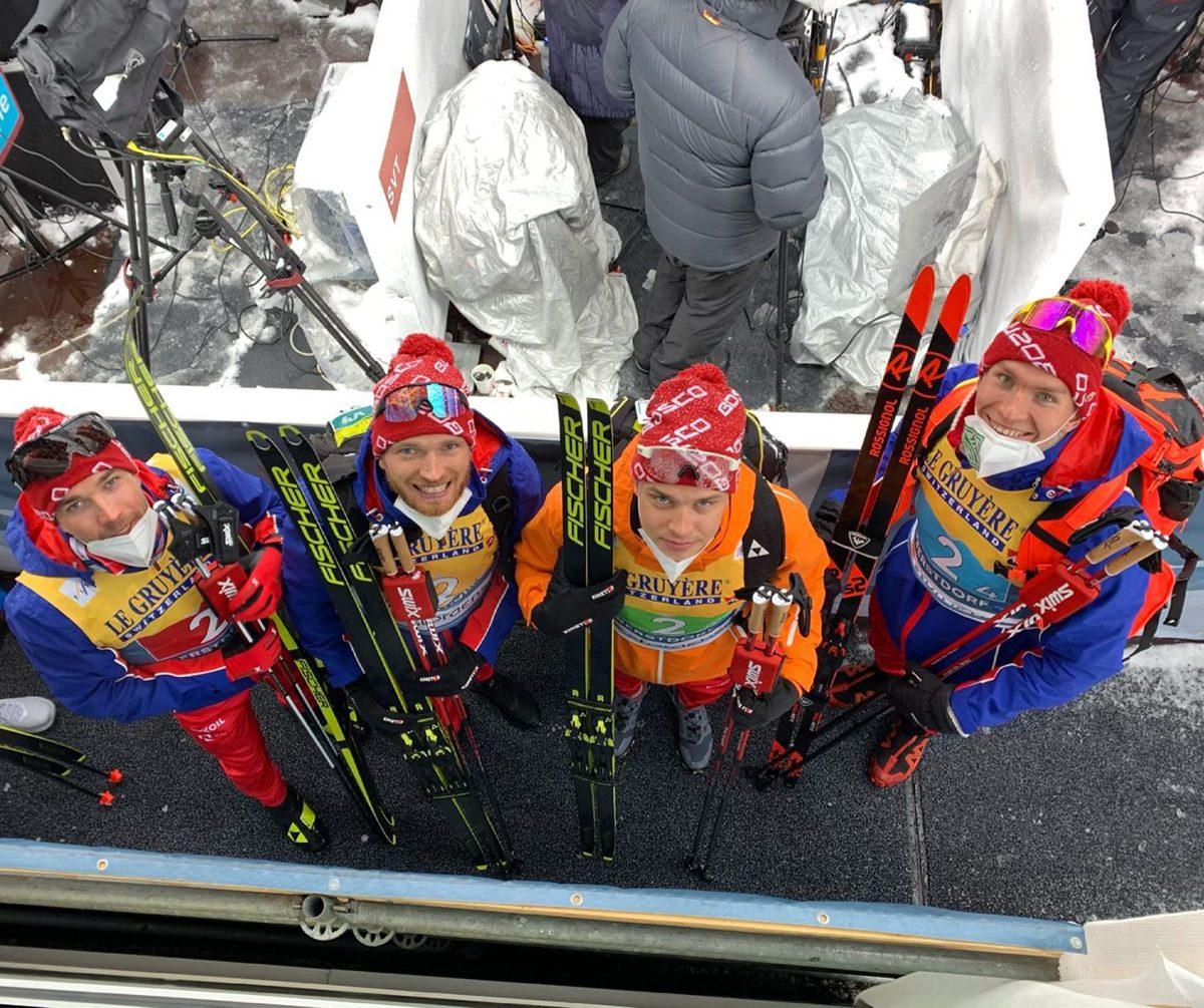 Нижегородец Артем Мальцев завоевал «серебро» в эстафете чемпионата мира по лыжным гонкам