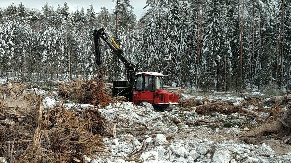 Появились первые фото со стройки М-12 в Нижегородской области