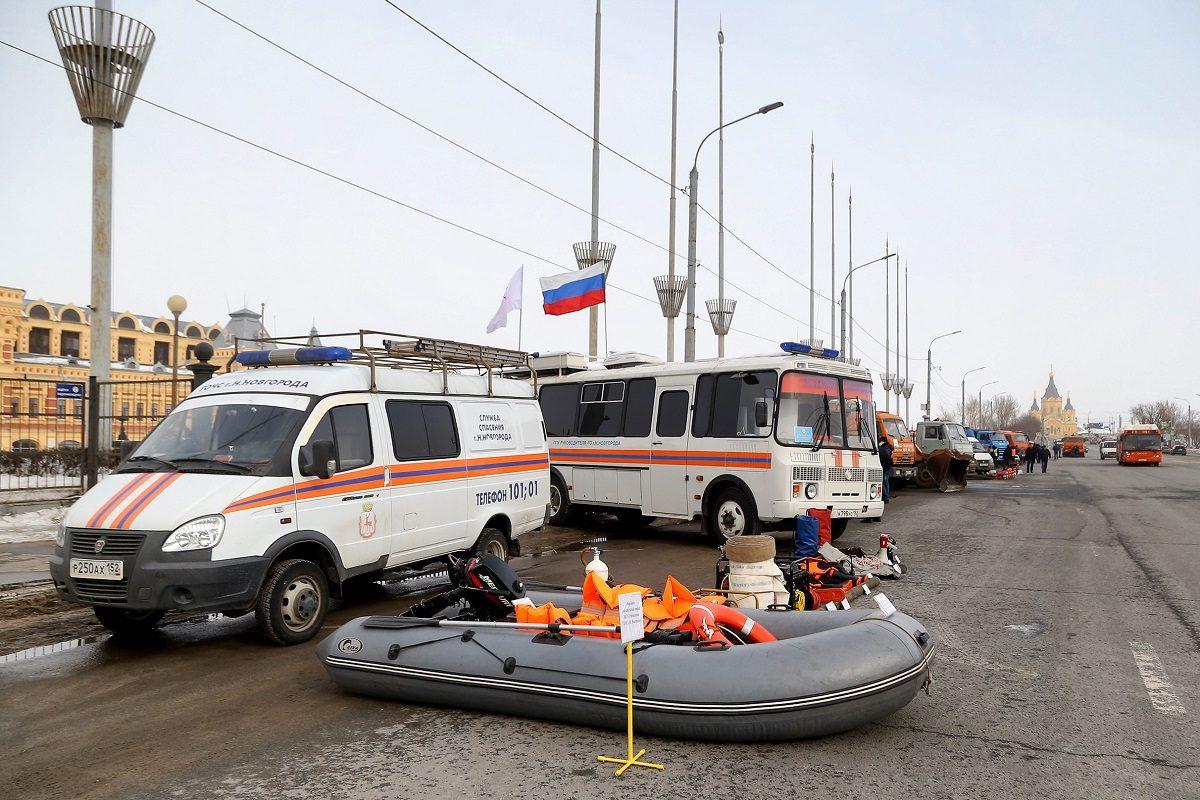 Режим повышенной готовности в связи с подготовкой к паводку объявлен в Нижнем Новгороде