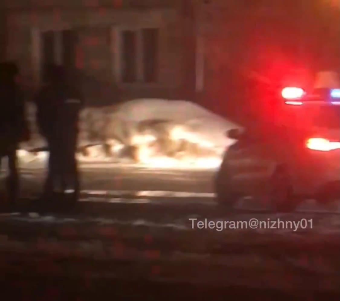 Полицейские задержали водителя, наехавшего на инспектора ДПС в Нижнем Новгороде