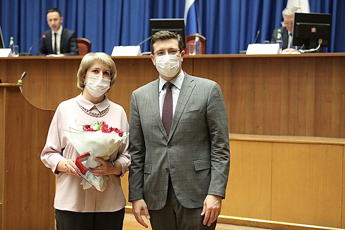 Глеб Никитин вручил награды нижегородским медикам