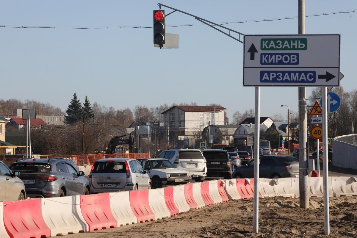 Нижегородская область получила 750 млн рублей изфедерального бюджета надостройку развязки вОльгине