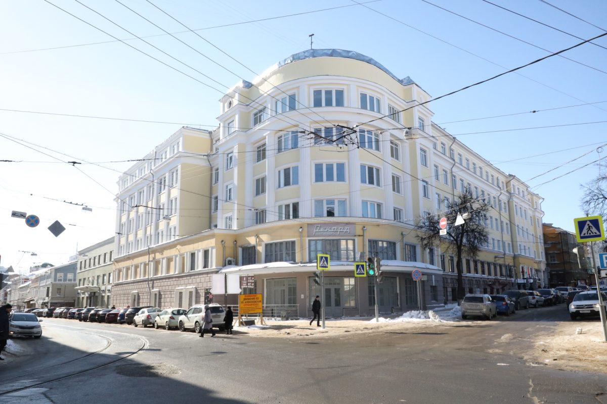 Нижегородский киноцентр «Рекорд» откроется виюле 2021 года после масштабной реставрации