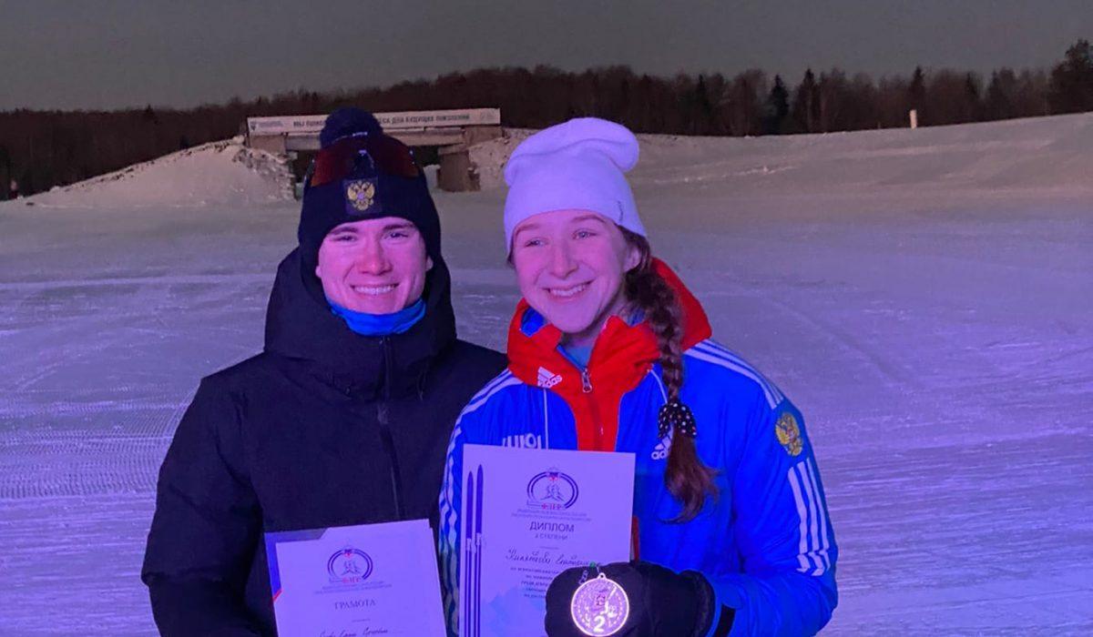 Нижегородские лыжники завоевали три медали на Первенстве России